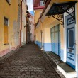 Old Tallin street - Stock Photo