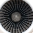 Plane engine — Stock Photo