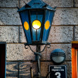 Old lantern on old wall — Stock Photo #11440400