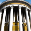 Stock Photo: Round building with columns