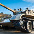 Russian battle tank — Stock Photo
