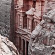 Petra treasury - Stockfoto