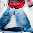 Washine machine - Stock Photo