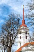 Church tower in Kuressaare — Stock Photo