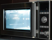 Microwave oven — Stock Photo