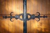 Vecchio cancello in legno — Foto Stock