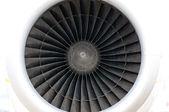 Plane engine — Stock Photo