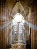Saint denis cathedral — Stock Photo