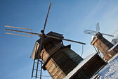 Two windmills — Stock Photo