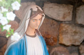 Virgin maria statue — Stock Photo