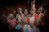 Masai kids, kenya — Stock Photo