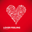 One big red heart — Stockvektor #11445592