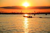 ヴェネツィアの日没 — ストック写真