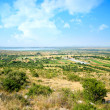 Стоковое фото: Beautiful green scenery landscape