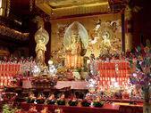 Buddysta rozciągacz — Zdjęcie stockowe