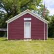 One Room School House - Stock Photo