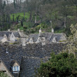 Rooftops in Cotswold England — Stock Photo