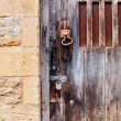 Stock Photo: Rusted Locks