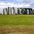 Stock Photo: Stonehenge with clouds