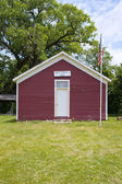 One Room School House — Stock Photo