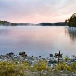 Sunset in haliburton — Stock Photo
