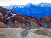 Vividly Coloured Death Valley Landscape — Stock Photo