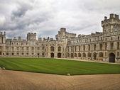 Windsor Castle Courtyard — Stock Photo
