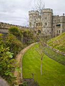 Windsor Castle Gardens and Towers — Stock Photo