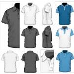 Polo-shirt design template — Stock Vector