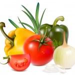蔬菜 — 图库矢量图片