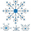 Vector snowflakes — Stock Vector #11521674
