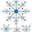 Vector snowflakes — Stock Vector #11522454