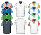 Men's polo-shirt design template. — 图库矢量图片