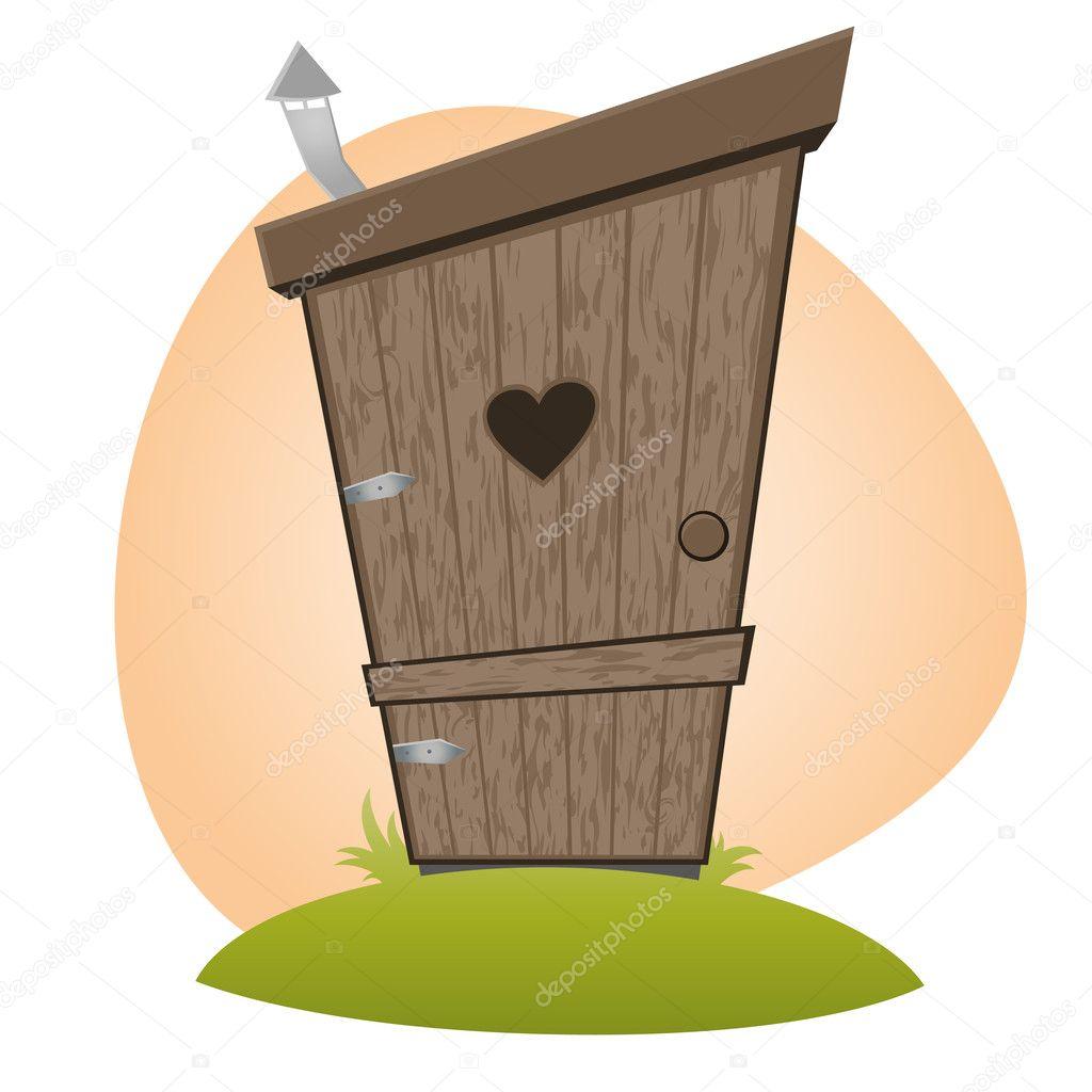 lustige cartoon wc stockvektor 11860592. Black Bedroom Furniture Sets. Home Design Ideas