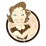Vintage cartoon woman — Stock Vector #11938980