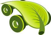 Modern ecology car — Cтоковый вектор
