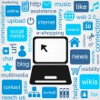 Social Media — Stockvector #11417227