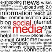 Social Media 3 — Stock Vector