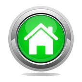 Home button — Stock Vector