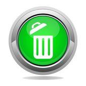 Wastebasket — Stock Vector