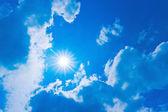 Sky - Sunburst — Stock Photo