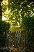 Private Garden — Stock Photo