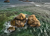 Rocks in the Ocean — Stock Photo
