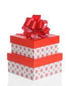рождество коробки — Стоковое фото