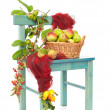 Autumn Harvest Chair — Stock Photo