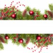 Christmas Banner — Stock Photo