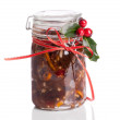 Jar Mincemeat — Stock Photo