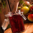 Royalty-Free Stock Photo: Apple & Blackberry Jam