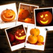 Halloween Pumpkin Images - Stock Photo