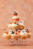 Halloween Spooky Cakes — Stock Photo